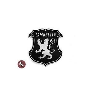 LAMBRETTA Billet CNC Shield/Lion/England Legshield/Side Panel/Frame Badge