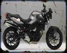 Bmw F800R 11 6 A4 Metal Sign Motorbike Vintage Aged