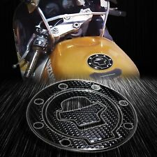 Perforated Black Gas Tank Fuel Cap Cover Protector Pad 97-03 GSXR-600/750/1000