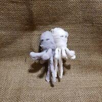 "Anthropologie Vintage by Crystal Arctic Explorer Spun Cotton 5.5/"" Seal Ornament"