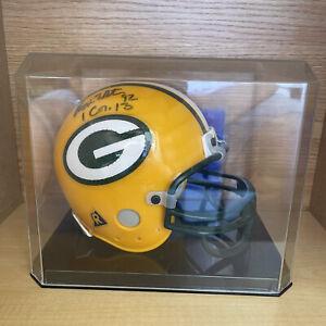 Reggie White Autographed Signed Riddell Mini Football Helmet Green Bay Packers
