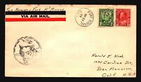 Canada 1929 FFC Ft. Norman to Ft McMurray - Z17434
