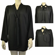 Party V Neck Chiffon Tops & Shirts Plus Size for Women