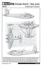 Aviaeology Decals 1/24 DE HAVILLAND MOSQUITO AIRFRAME STENCIL & DATA MARKINGS