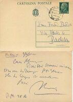 2261 - Regno - Posta militare 28 (Grecia) su intero postale C 79, 10/04/1941