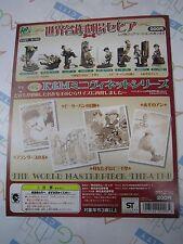 The World Masterpiece Theater Mini Vignette Gashapon Toy Machine Paper Card