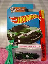 Case N/P 2015 i Hot Wheels '15 JAGUAR F-TYPE PROJECT 7 #185∞Green; Y5∞Track Aces