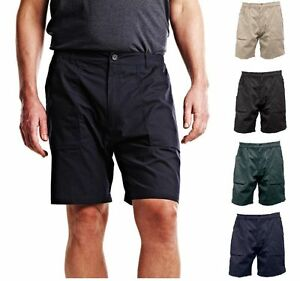 Men's Regatta Professional Work-wear Combat Action Cargo Shorts Water Proof