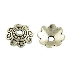 50 Stück Perlenkappen ca. 10x3 mm Kappen Perlen Antiksilber Schmuck -2892