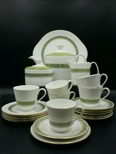 Royal Doulton 'Rondelay' Tea Set for 6 people-1st Quality-Excellent Condition
