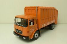 ROMAN-MAN FROM ROEMENIE- #SALUBRITATE /REFUSE TRUCK  ALTAYA 1:43 FROM COLLECTION