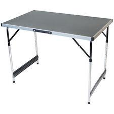 In alluminio pieghevole leggero tavolo da Campeggio Pranzo preparato Garden Party