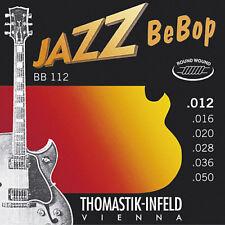 Thomastik-Infeld Jazz Bebop Series BB112 Electric Guitar Strings 12-50