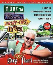FOOD NETWORK MORE DINERS DRIVE-INS & DIVES~PAPERBACK COOKBOOK~GUY FIERI~like new