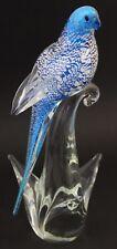Murano Glass Bird Formia di Vetri The Budgerigar Bird from Hamilton Collection