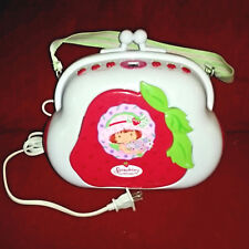 Strawberry Shortcake Pocketbook CD Player Radio Booxbox Carry Strap Tested Works