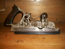 ANTIQUE STANLEY NO. 45 COMBINATION PLANE WOODWORKING TOOL
