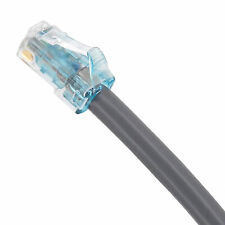 0SYSTIMAX COMMSCOPE 5' GIGASPEED X10D CAT 6A MODULAR PATCH CORD, GREY, NEW!