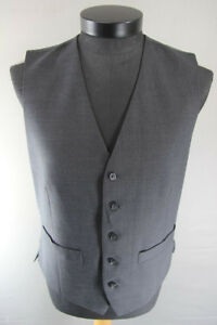 BRAND NEW GARETH SOUTHGATE ENGLAND STYLE CHARCOAL GREY WAISTCOAT 40 INCH