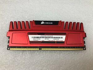 Corsair Vengeance Pro 8GB DDR3 1600MHz C9 Desktop Gaming Memory Red ...