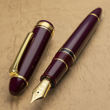 Sailor LIMITED 1911 Profit Large Realo Demonstrator 21K Gold M Nib Fountain pen
