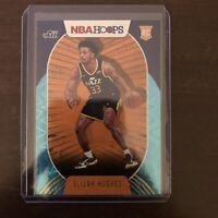 2020-21 Elijah Hughes Panini NBA Hoops Rookie Card RC Teal Explosion Utah Jazz