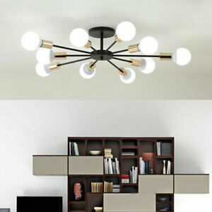 Modern Ceiling Lamp 10 Branching LED Chandelier Ceiling Fixtures