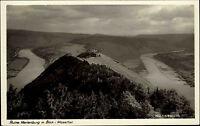 MARIENBURG Mosel Schleife Pünderich Alf Bullay um 1930 Blick auf Burg Ruine