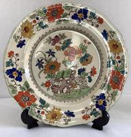 "Antique, Mason's Patent Ironstone China C.2639 K 10"" Cabinet/Display Plate"