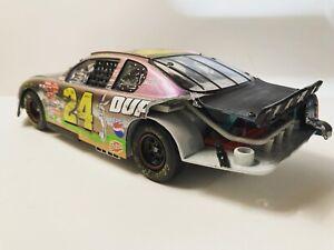 Jeff Gordon 1/24 2001 Custom Bugs Bunny Wrecked Monte Carlo 400