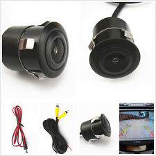 Autos 170° wide viewing angle Drilling Accessories Car Rear View Camera black