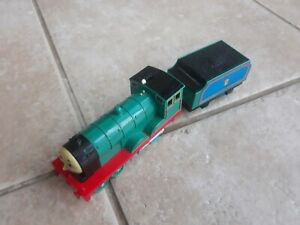 Thomas Trackmaster Edward Train with linked tender, battery operated. VERY RARE