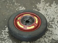Audi 80 Cabriolet Coupe 100 Space Saver Spare Wheel and Tyre #1 893601025D