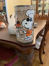 Vintage 1971 A&W Root Beer Snoopy Store Display Very Rare Charlie Brown Gas Oil