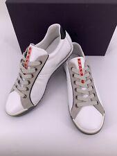 Neu PRADA Herren Sneakers Leder Gr-8,5-42,5