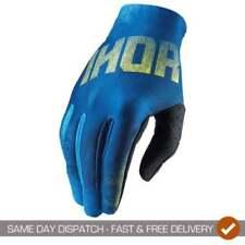 Guantes de motocross azules Thor