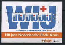Nederland 3 Blokjes 2512 Rode Kruis 2007 in envelop