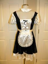 California Costume Fiona French Maid Sexy Halloween Costume Outfit Cosplay Black