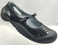 J-41 8.5 M Black LUNAR Sandals Womens Vegan Mary Jane Shoes Walking Trail 40.5