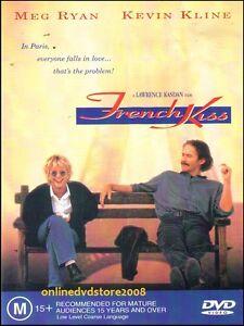 FRENCH KISS (Meg RYAN Kevin KLINE Timothy HUTTON) Romantic Comedy Film DVD Reg 4