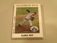 1991 Baseball Cards: ANCHORAGE BUCS Set, 36 cards, Limited out of 2500