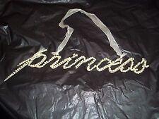 Pearls and Metal Princess sign