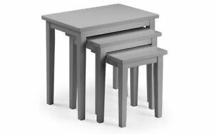 CLEO GREY NEST OF TABLES by Julian Bowen