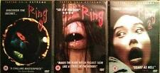 THE RING TRILOGY [Ringu 0,1,2] Hideo Nakata Cult Japanese Horror DVD Set *EXC*
