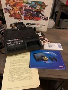 Channel F System II Fairchild 1978 Console Video Game System Complete in Box