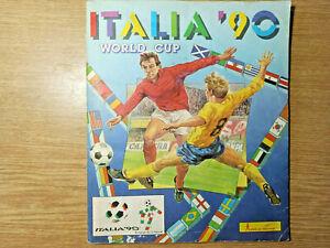 Vintage Album Sticker Italia 90 Panini Full Complete Original Yugoslavia