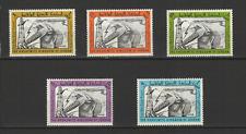 Jordanie 5 timbres non oblitérés 1963 projet du Canal de Ghor / T2812