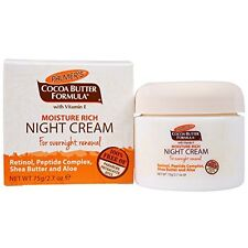 2 Pack Palmers Moisture Rich Night Cream for Overnight Renewal 2.7oz Each