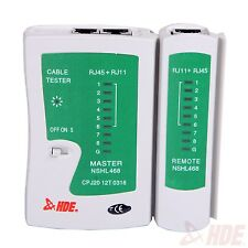 RJ45 Network Cable Tester Ethernet LAN Wire Line Tester Tool Cat 5/5e/6