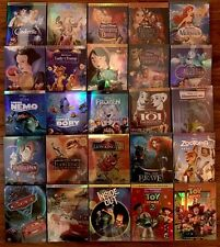 Lot 8 Disney DVDs: Beauty and the Beast, Aladdin, Cinderella,Monsters & more